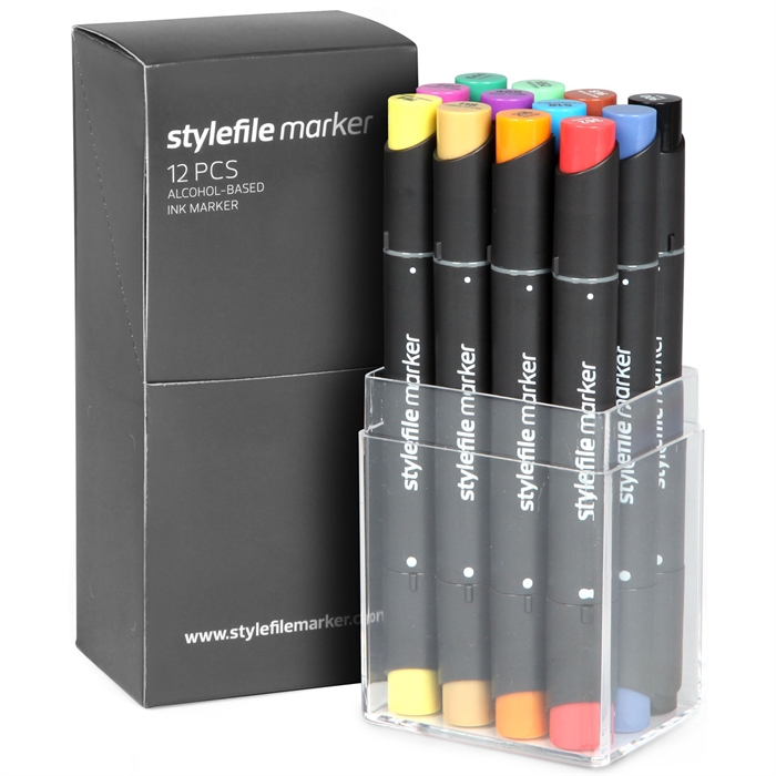 Stylefile Marker 12'li Main A Set