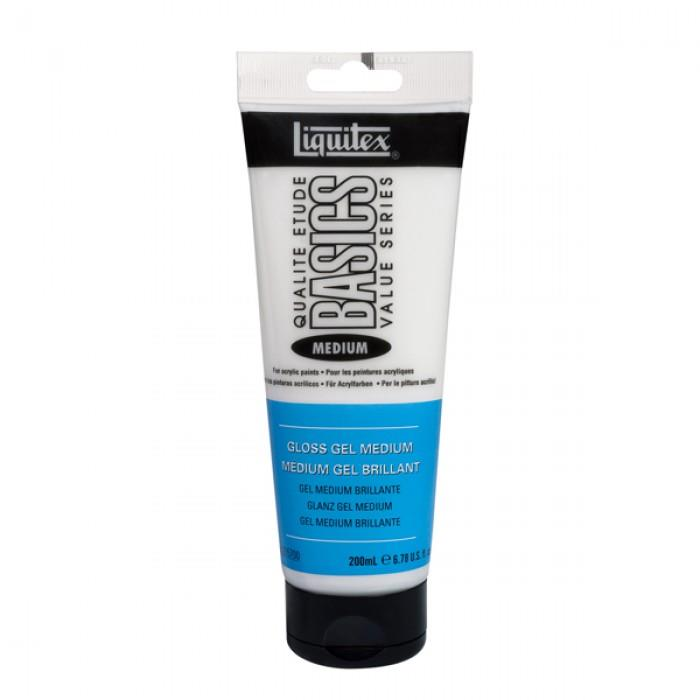 Liquitex Basics - Gloss Gel Medium - 200ml