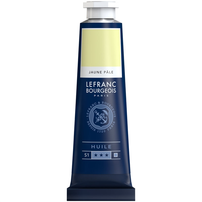 Lefranc & Bourgeois Fine Yağlı Boya 40ml - Pale Yellow 239