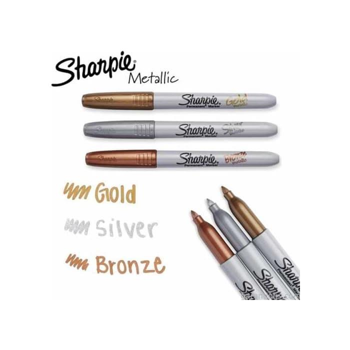 Sharpie Permanent Markör - Metalik Bronze