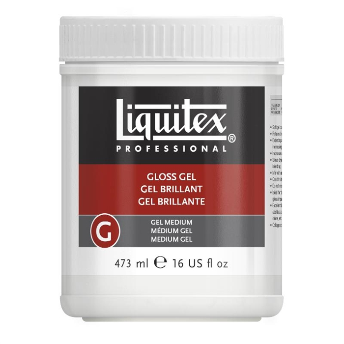 Liquitex Gloss Gel Medium - Parlak Jel Medium - 473ml