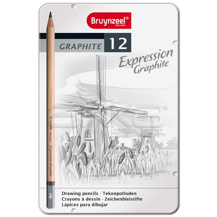 Bruynzeel Expression Graphite 12'iı Set
