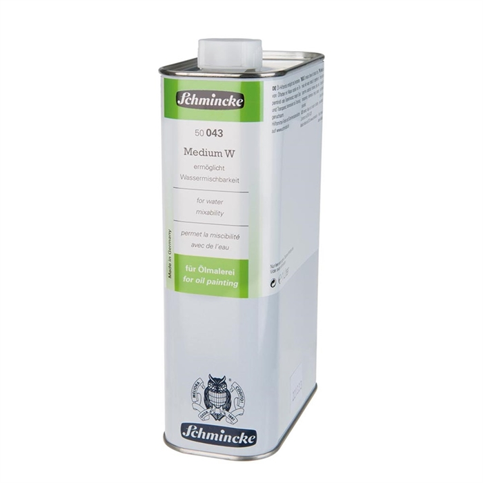 Schmincke Medium W - For Water Mixability - 1L