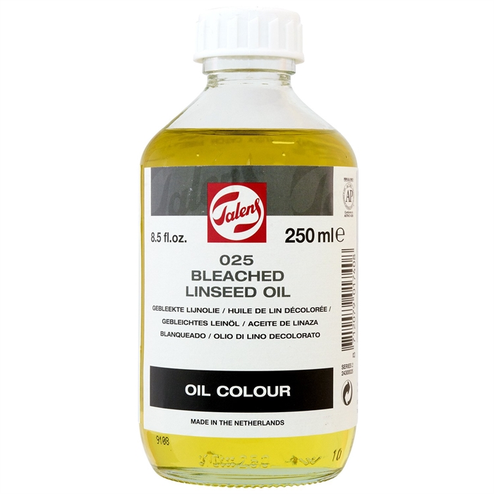 Talens Bleached Linseed Oil - 250ml - N.025