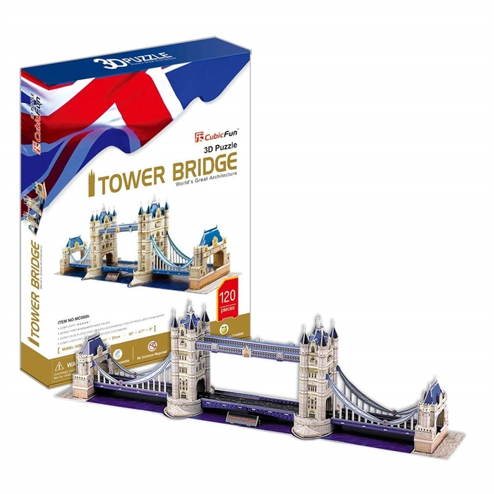 3 Boyutlu Puzzle - Tower Bridge