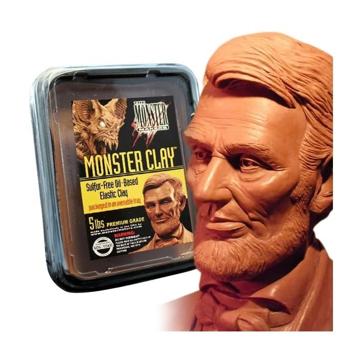 Monster Clay Elastik Modelleme Kili Medium - 2.27kg
