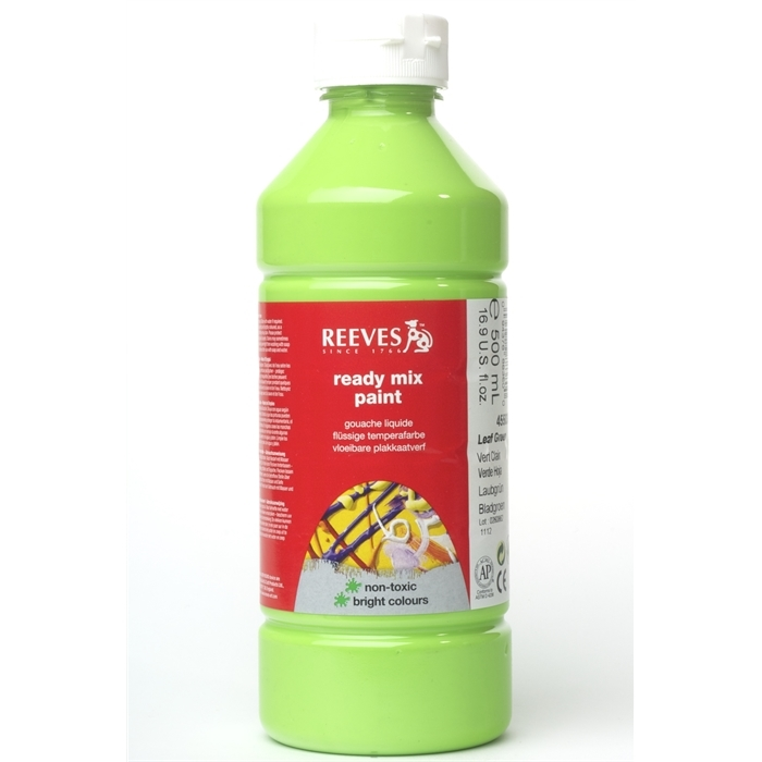 Reeves Ready Mix Guaj Boya 500ml. - Leaf Green