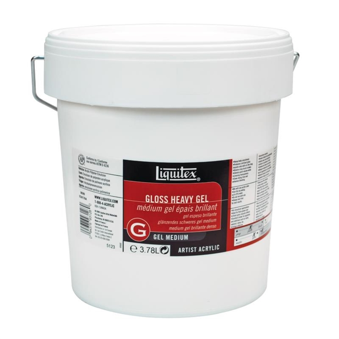 Liquitex Gel Medium - Gloss Heavy Gel - Parlak Yoğun Jel - 3,78L