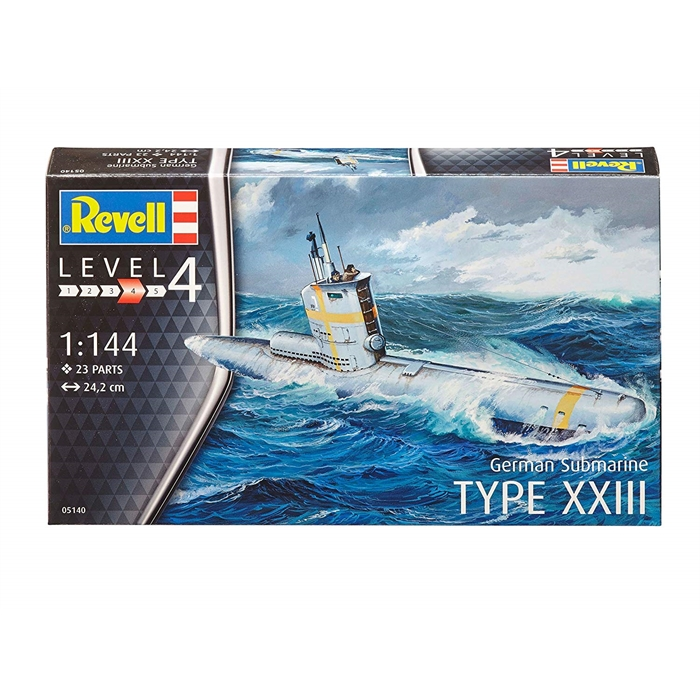 Revell German Submarine Type XXIII - 1/144 - 5140
