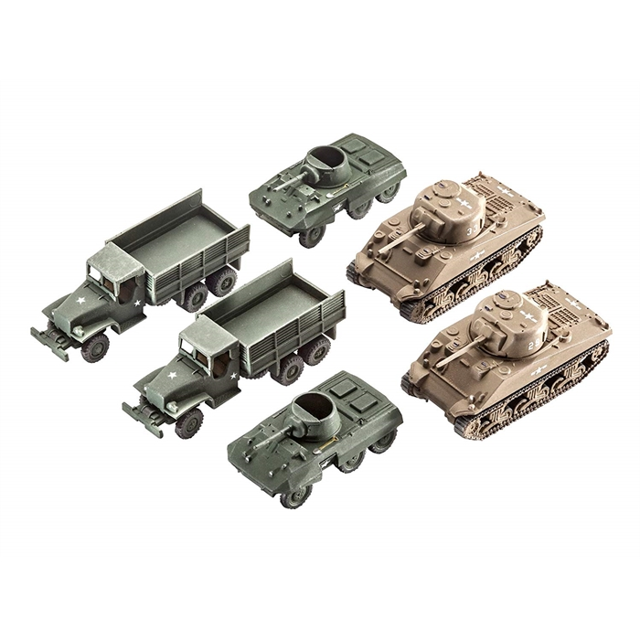 Revell US Army Vehicles - 1:144 - 3350