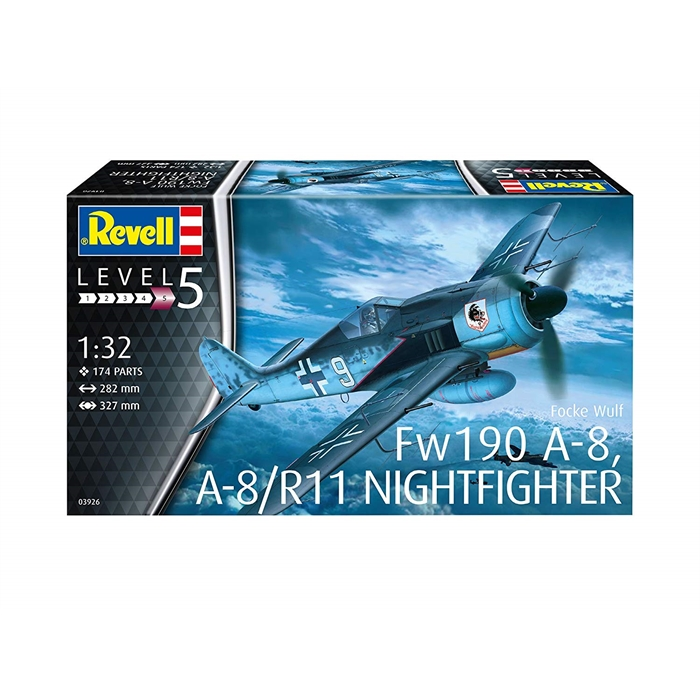 Revell FW190 A-8/R11 Nighthighter - 1/32 - 3926