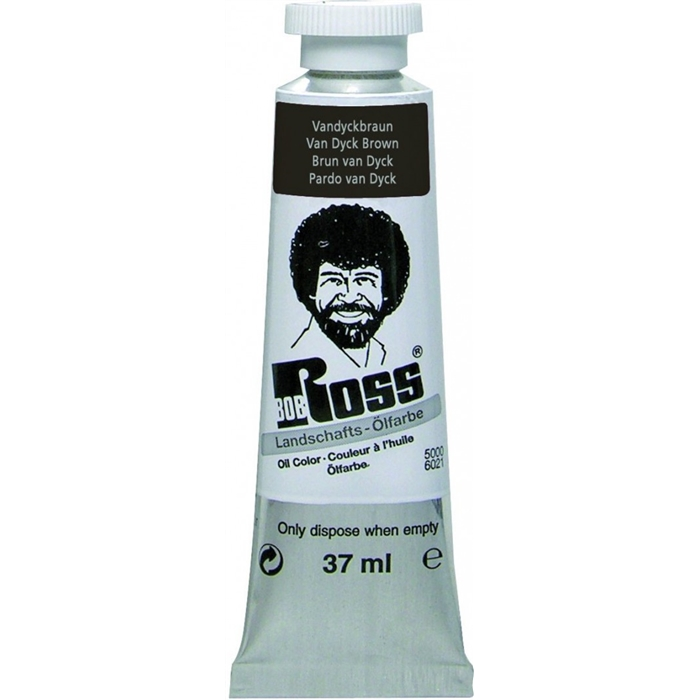 Bob Ross Yağlıboya - 37ml - Van Dyck Brown