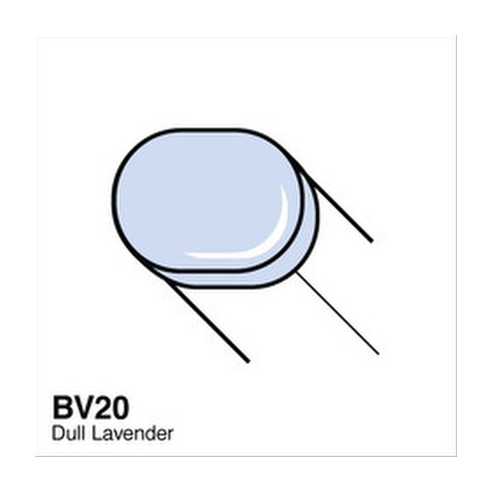Copic Sketch Marker - BV20 - Dull Lavender