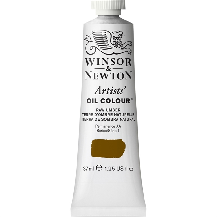 Winsor & Newton Artists Yağlı Boya - Raw Umber - 37ml - Seri 1