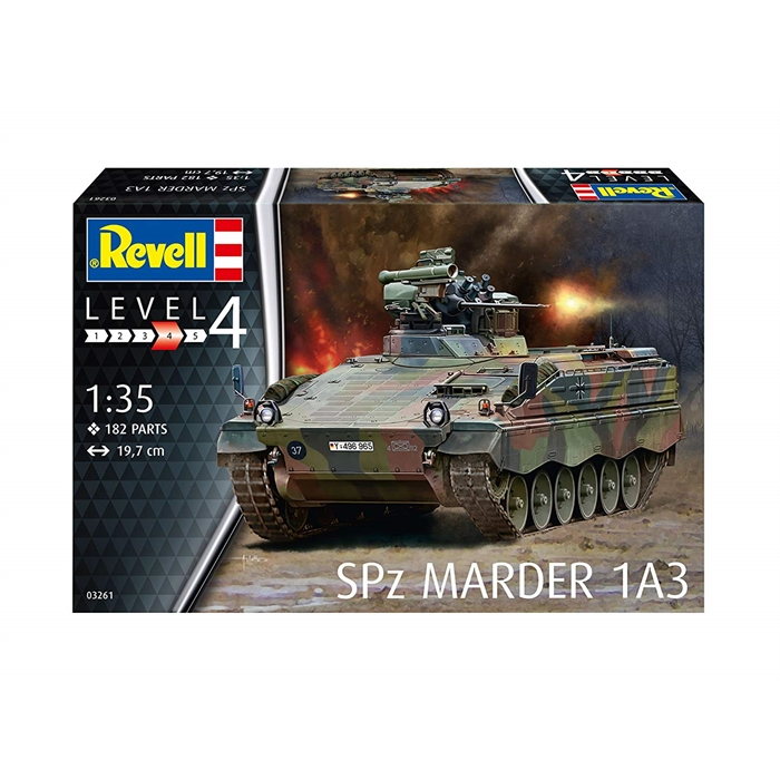 Revell SPz Marder 1A3 - 1:35 - 3261
