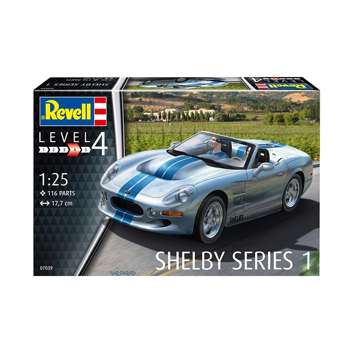 Revell Shelby Series 1 - 1:25 - 7039