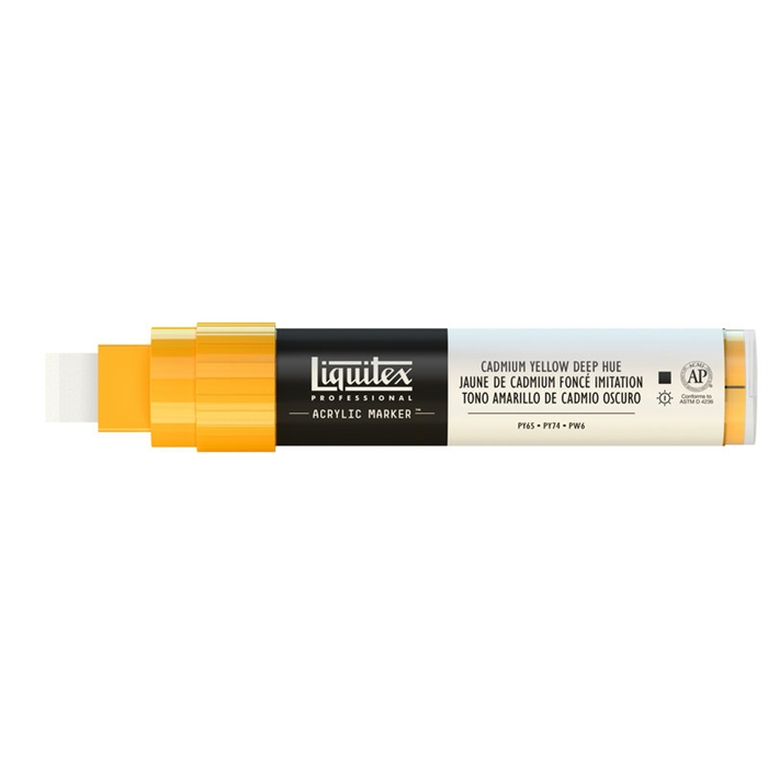 Liquitex Akrilik Kalem - 15mm - Cadmium Yellow Deep Hue